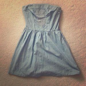 Merona Light Blue Denim Dress